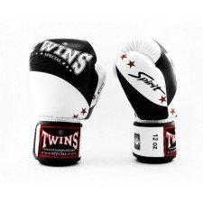 Gants de boxe Twins Special BGVL 10 noir & blanc