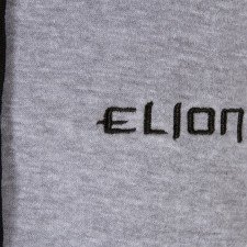 Sweat Elion Capuche & Zip Gris