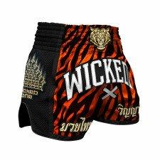 Short de boxe thaï WickedOne Tiger Stripes