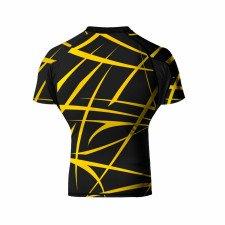 Rashguard WickedOne Claws noir & jaune
