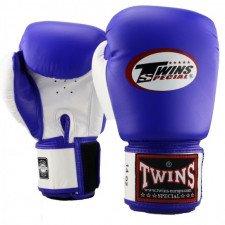 Gants de boxe Twins BGVL 3 Bleu/Blanc