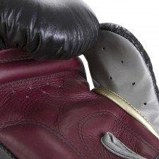 Gants de Boxe Elion Collection Paris - Noir/Bordeaux