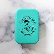 Boîte à savon Clean Hugs bleu-vert
