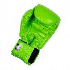 Gants de boxe Twins BGVL 3 Vert Fluo