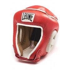 Casque de Boxe Leone Combat Rouge