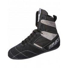 Chaussures de Boxe Française Rivat Top Classiques Noires et Anthracites