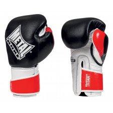 Gants de Boxe Titan Noir & Rouge