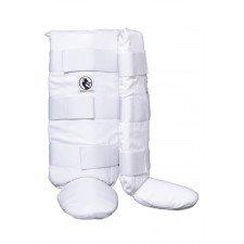 Protege Tibia & Pied Coton Semi-rigide