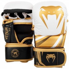 Gants MMA Venum Impact Challenger 3.0 - Blanc/Or