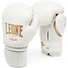 Gants de boxe Leone vintage blanc