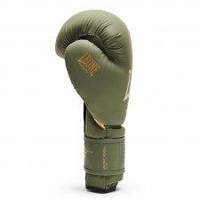 Gants de boxe Leone vintage vert
