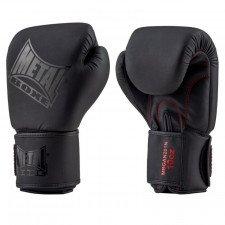 Gants de Boxe Metal Boxe Black Thai