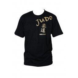 T-shirt Noir Judo