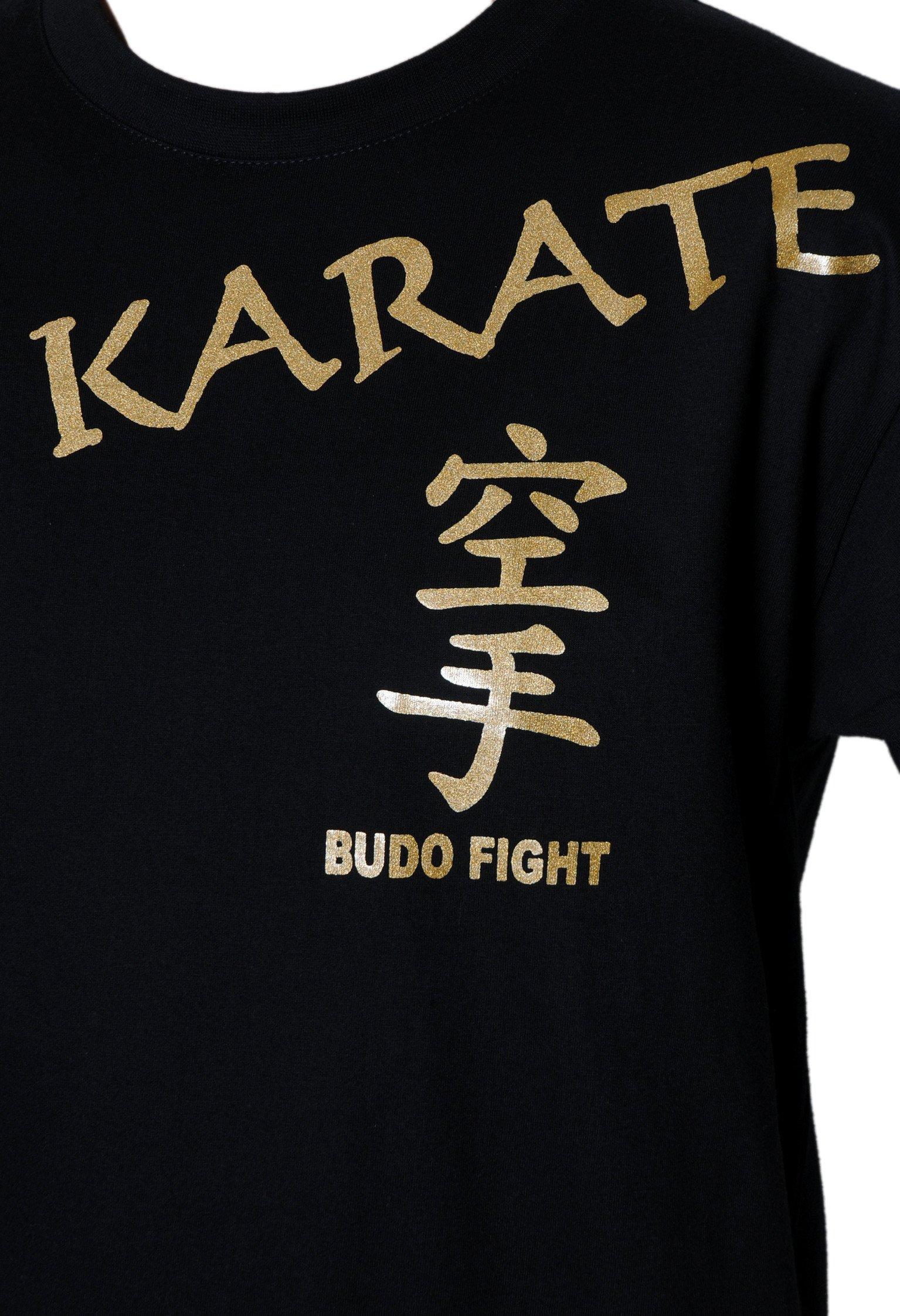 T-shirt Noir Karaté