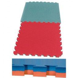 Tapis Puzzle emboitable en Mousse Eva Reversible 100x100x4cm