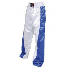 Pantalon Full Contact Bleu/blanc