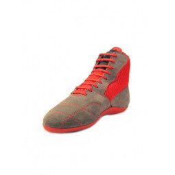 Chaussures BF- Boxe Francaise Rivat Boomerang Gris/Rouge