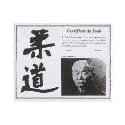 Certificat de Judo