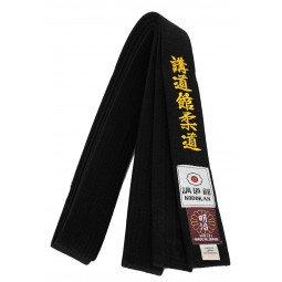 Ceinture Judo Noire Importation Japon Brodée Kodokan Judo