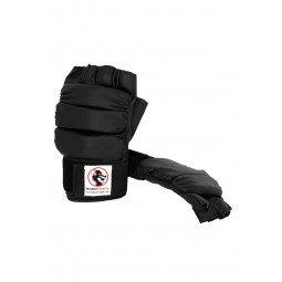 Protège mains PU Noir