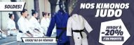 Jusqu'à -20% sur nos kimonos de judo !