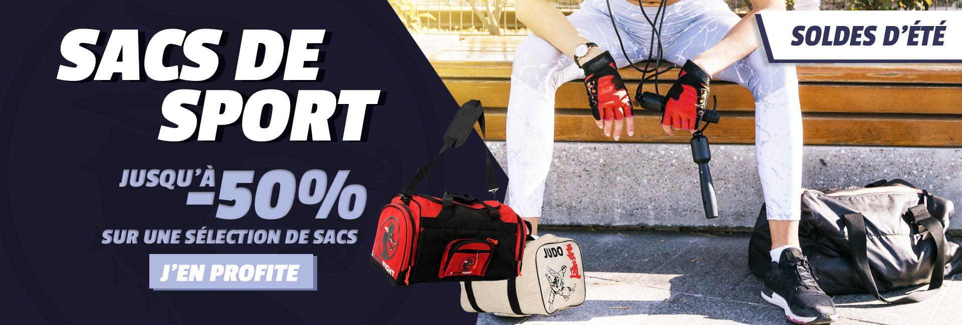Soldes : jusqu'à -50% sur nos sacs de sport