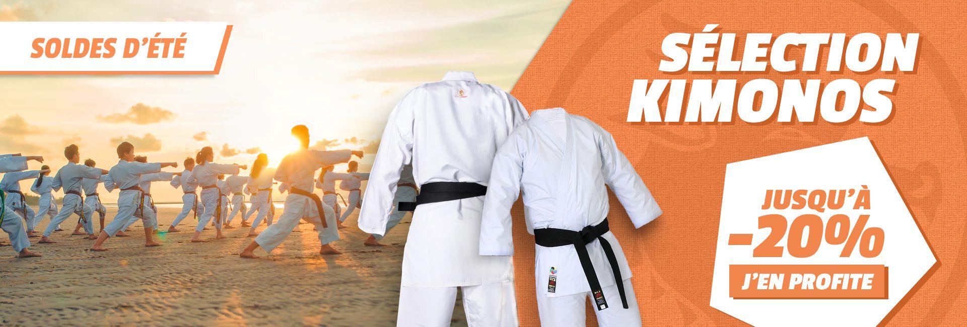 Soldes Budo-Fight : jusqu'à -20% sur les kimonos