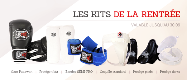 Kit de rentrée Budo-Fight
